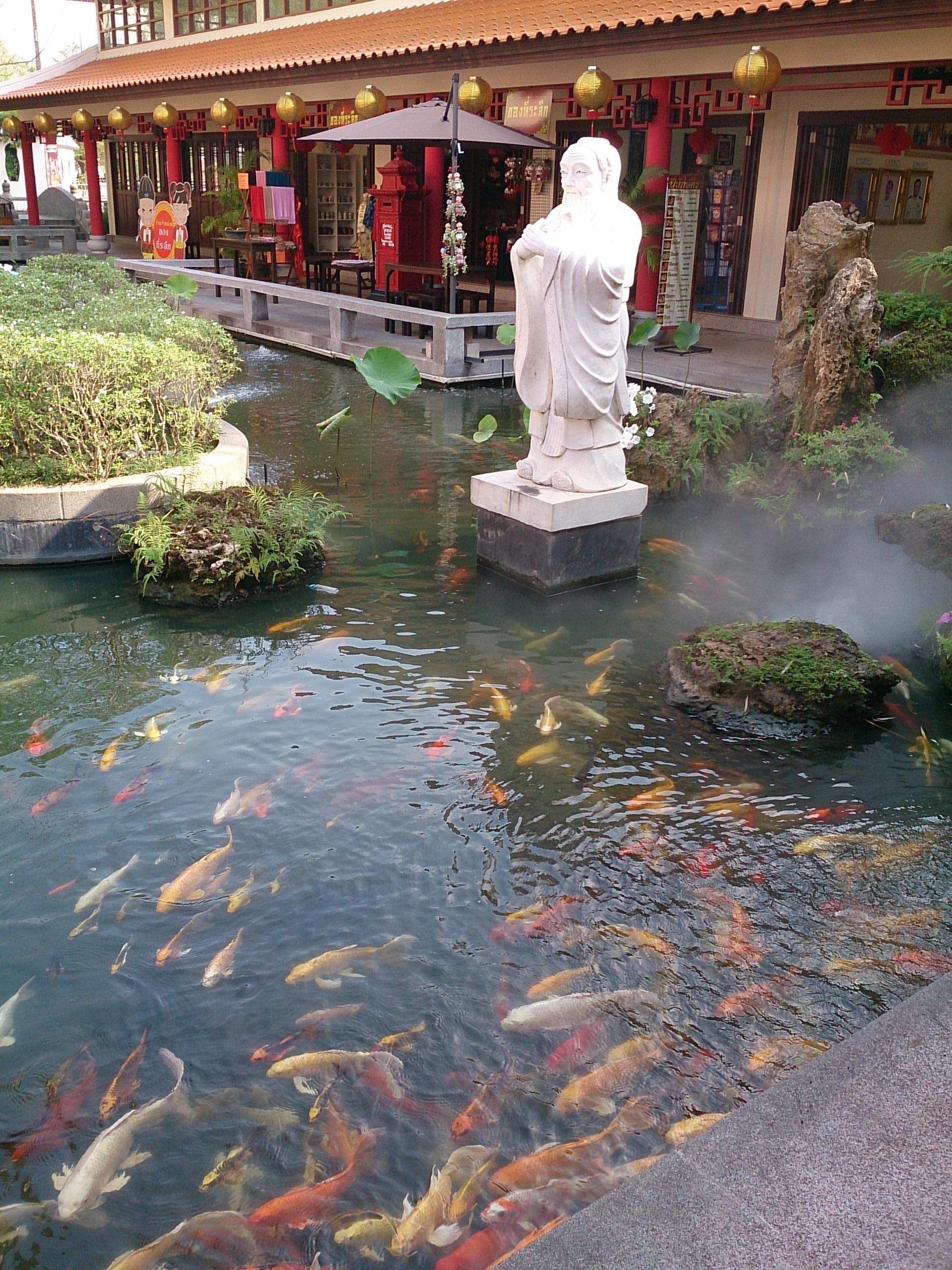 ウドンタニの本頭公媽とタイ-中国文化センター