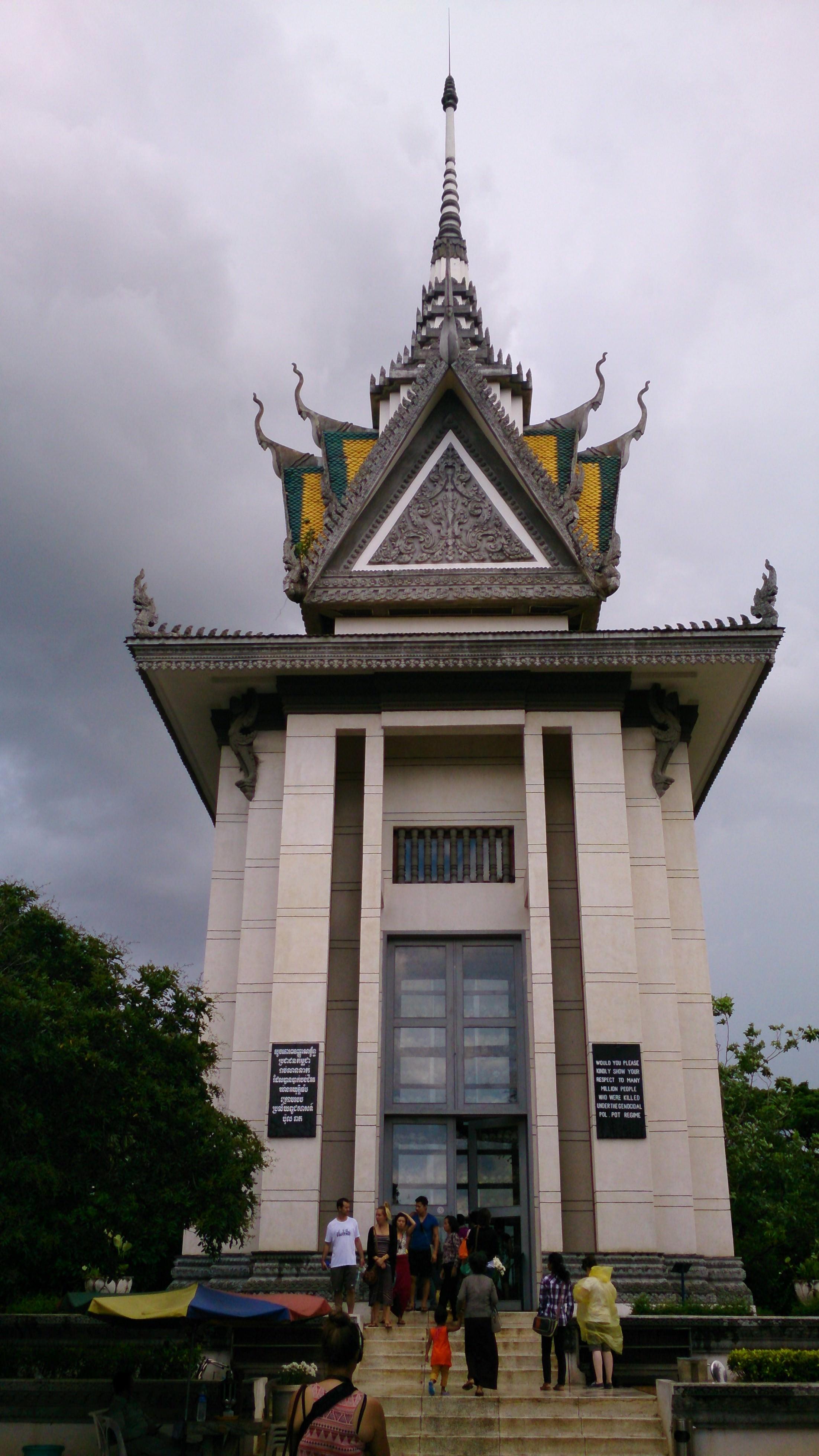 カンボジア暗黒の歴史跡・キリングフィールド
