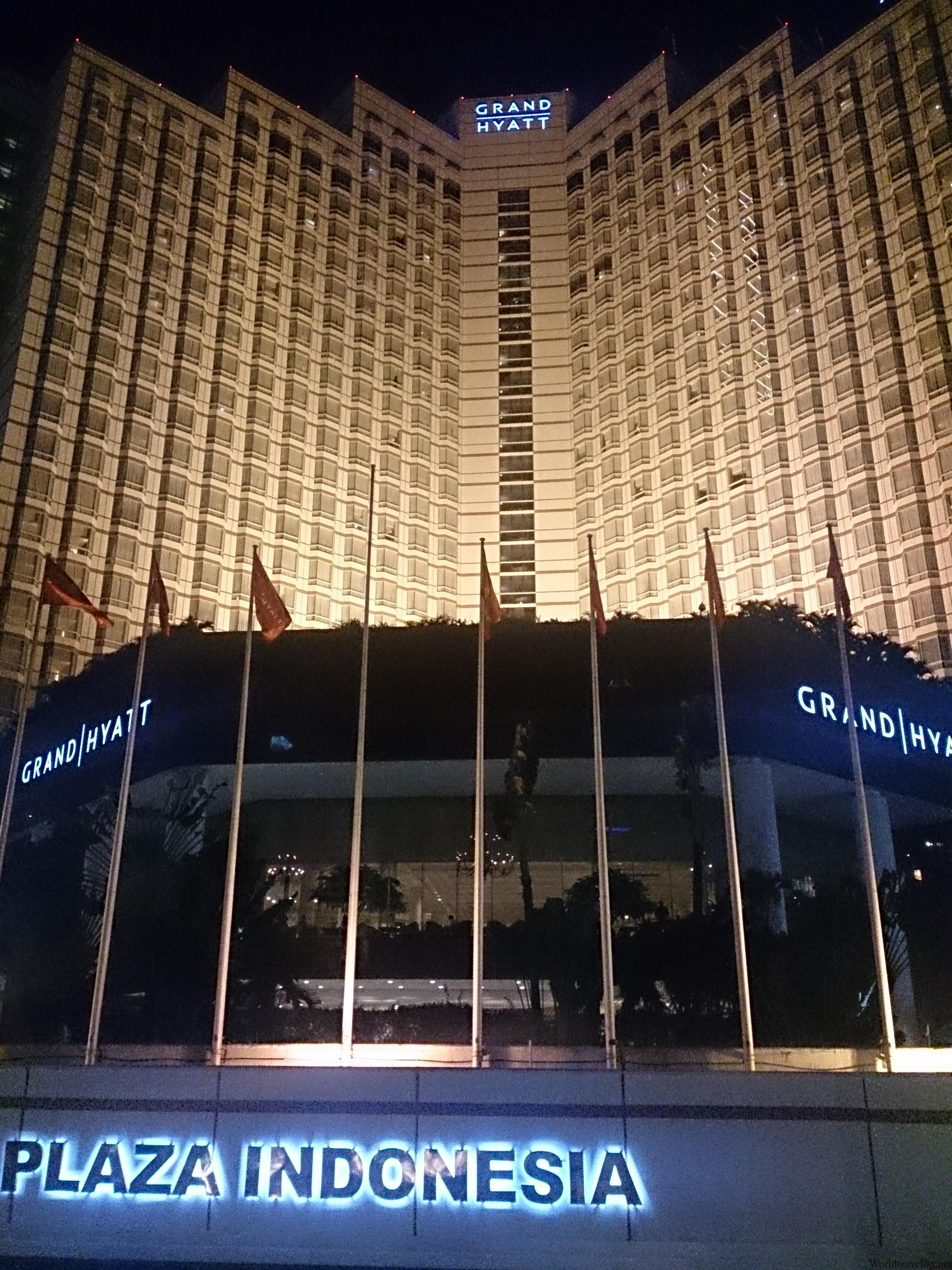 グランドハイアット ジャカルタ宿泊記(Grand Hyatt Jakarta)