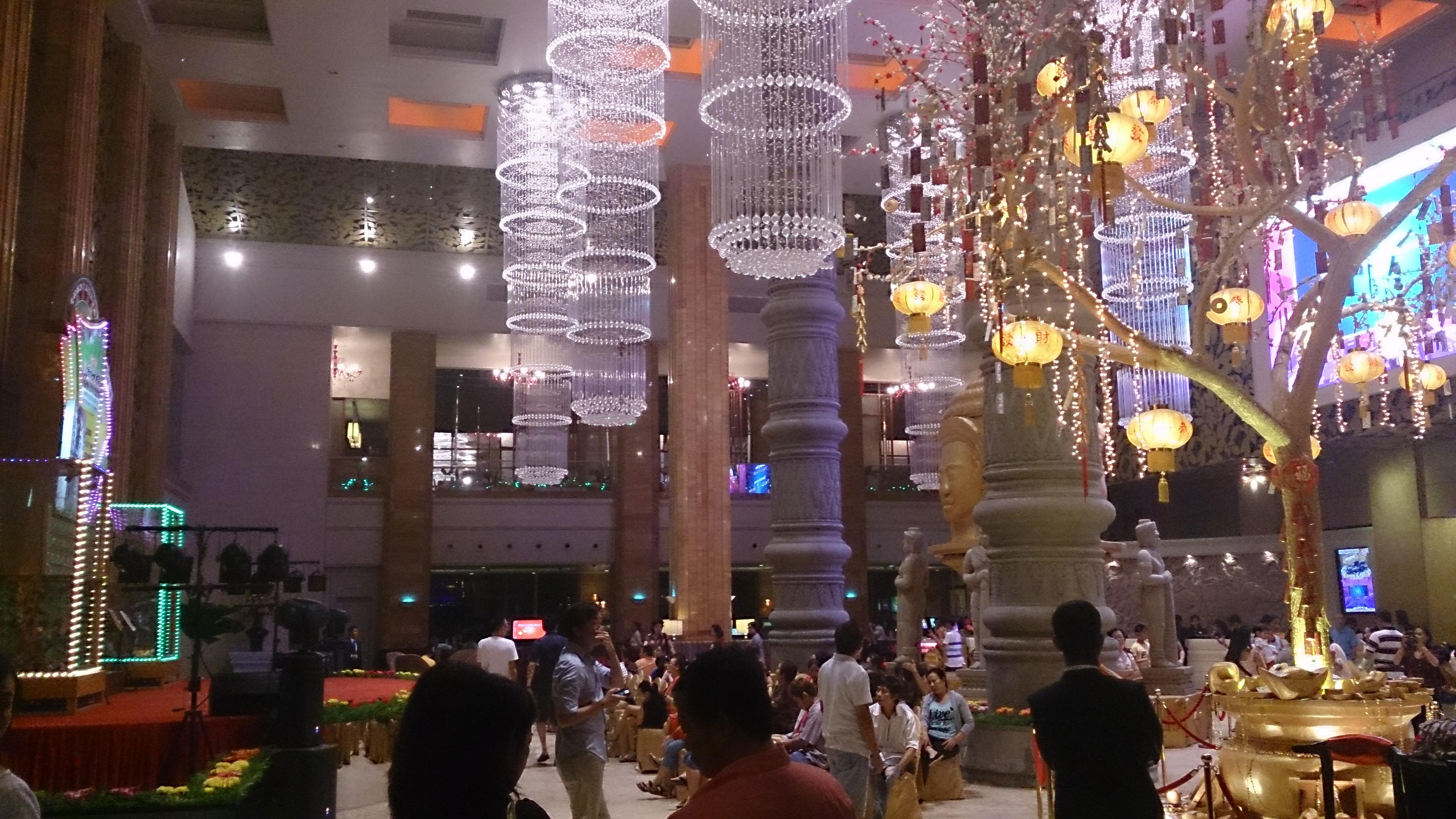 プノンペンで唯一のカジノホテル・ナーガワールド
