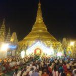 ミャンマーの黄金郷 シュエダゴンパゴダとVista Rooftop Bar