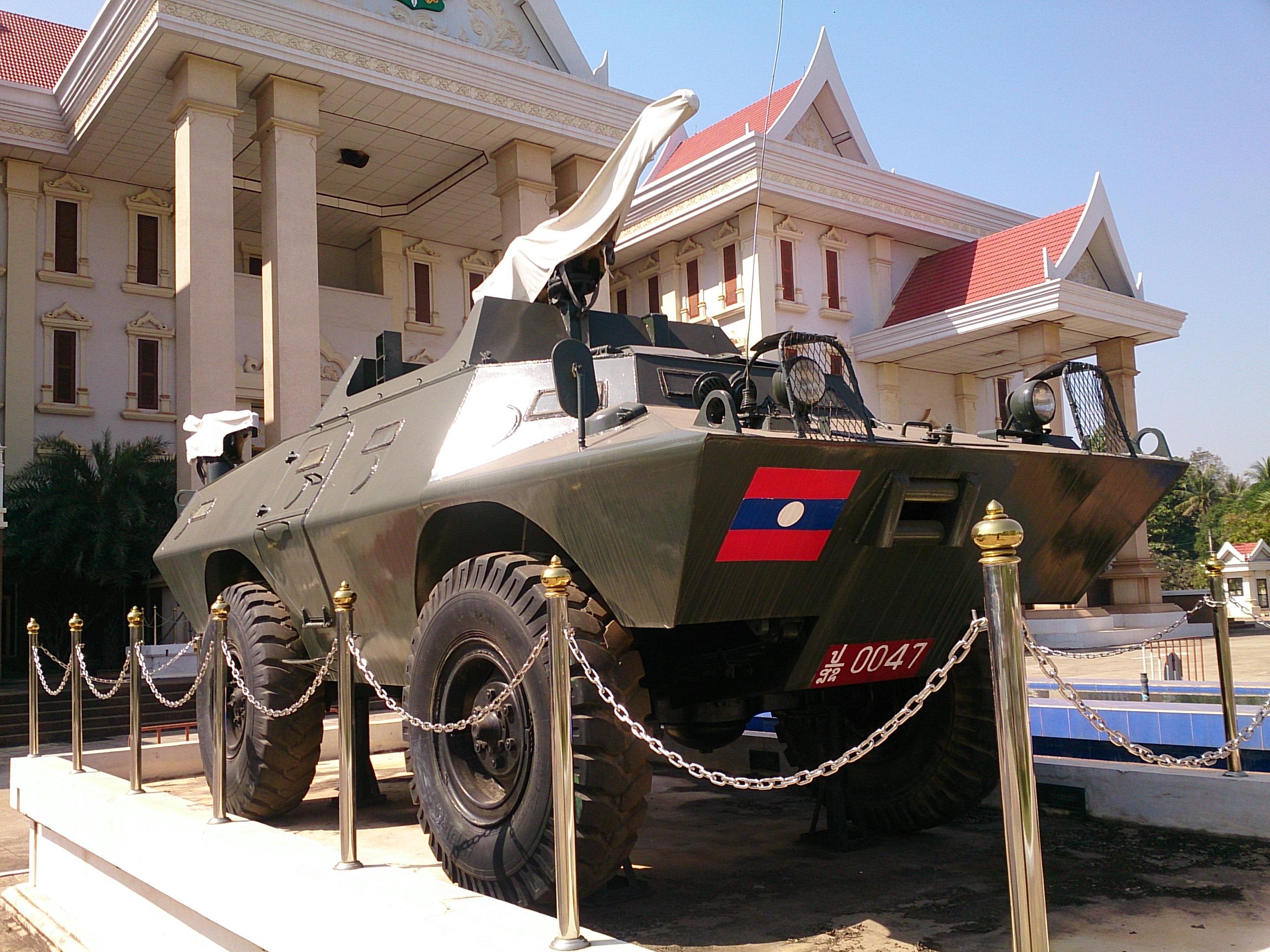 ラオス人民軍歴史博物館(軍事博物館)と警察博物館