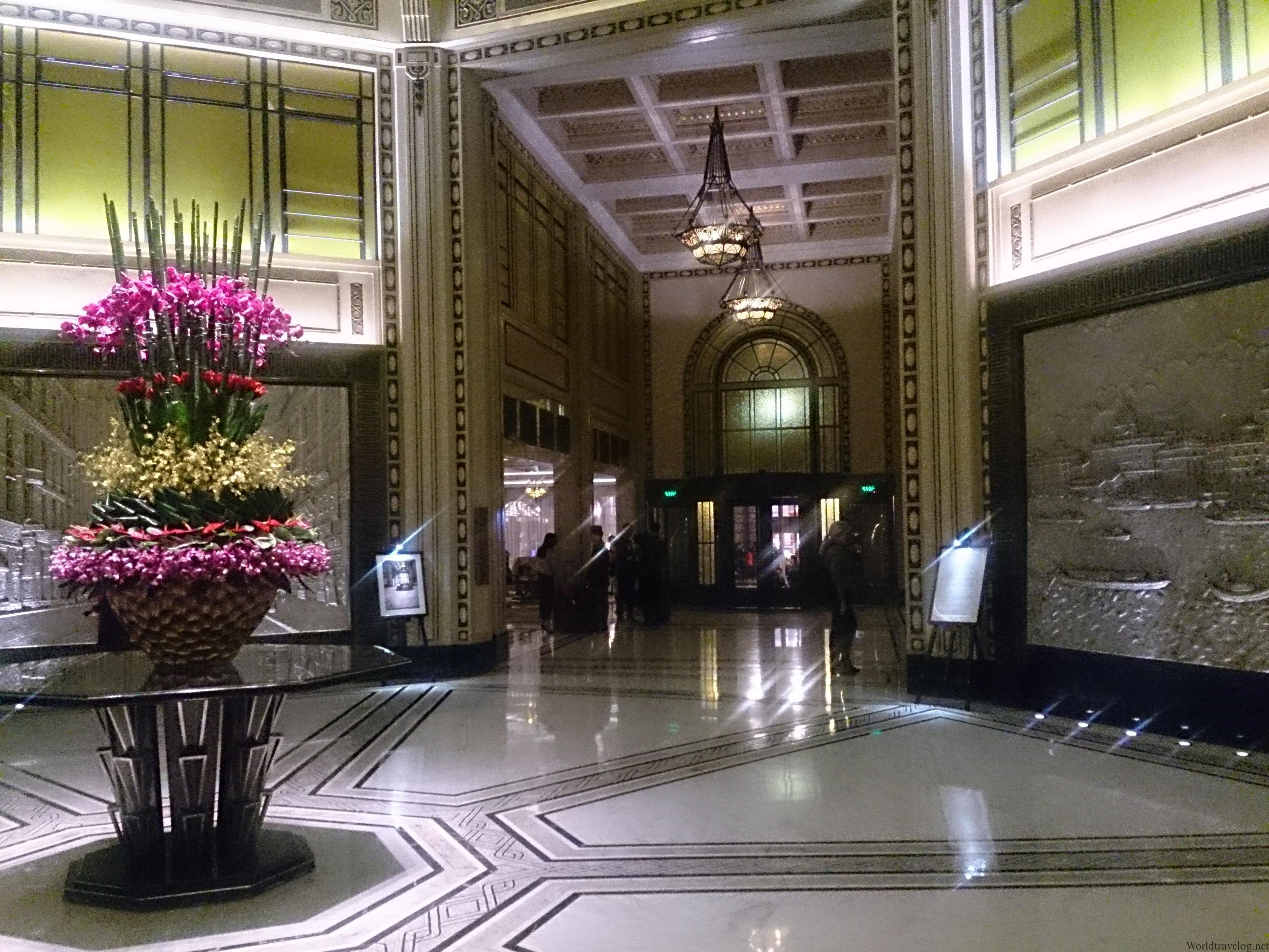 フェアモント ピースホテル上海(和平飯店)宿泊記/ Fairmont Peace Shanghai