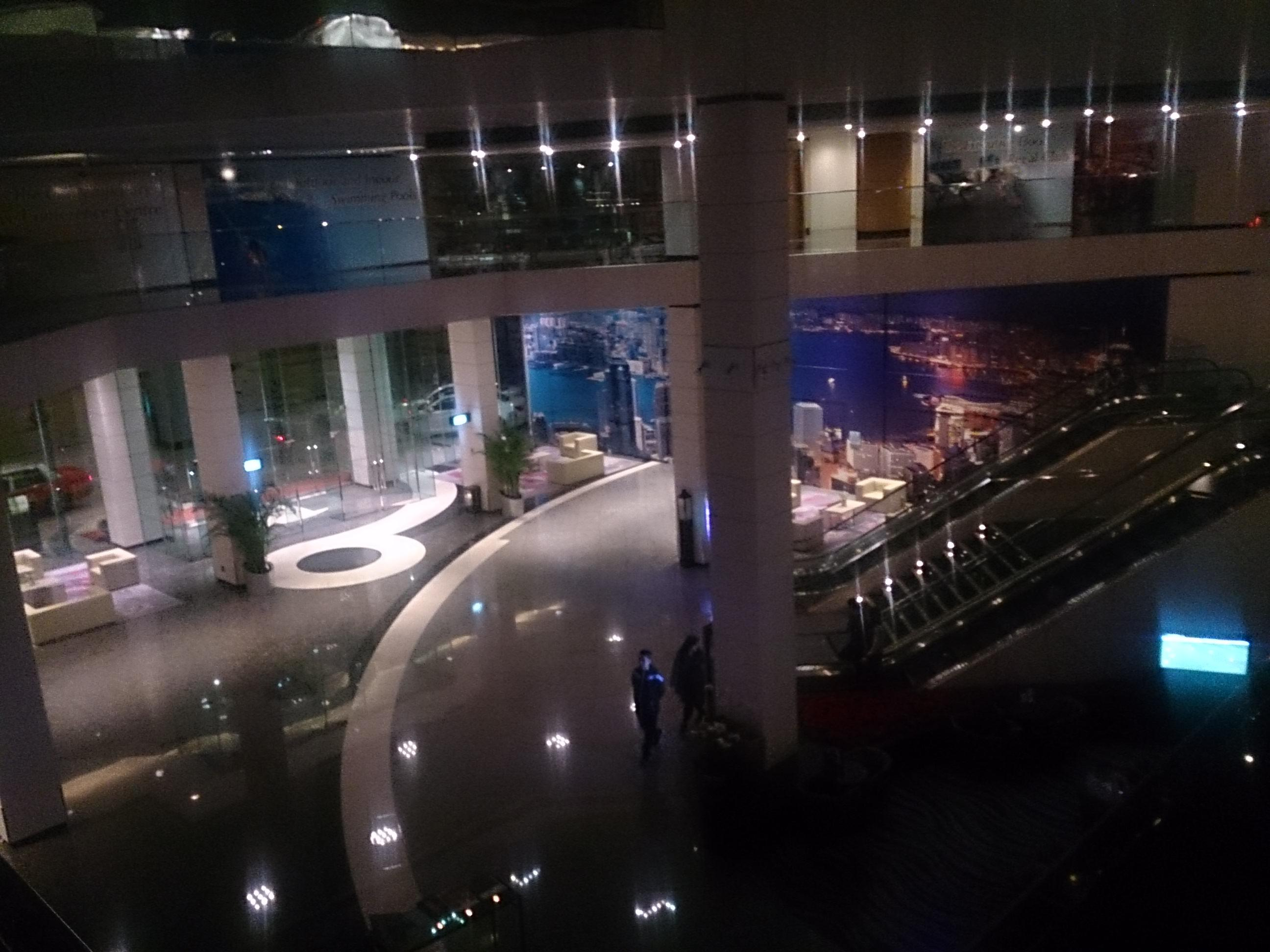 レイオーバーでリーガルエアポートホテルに収監された Regal Airport Hotel Hongkong