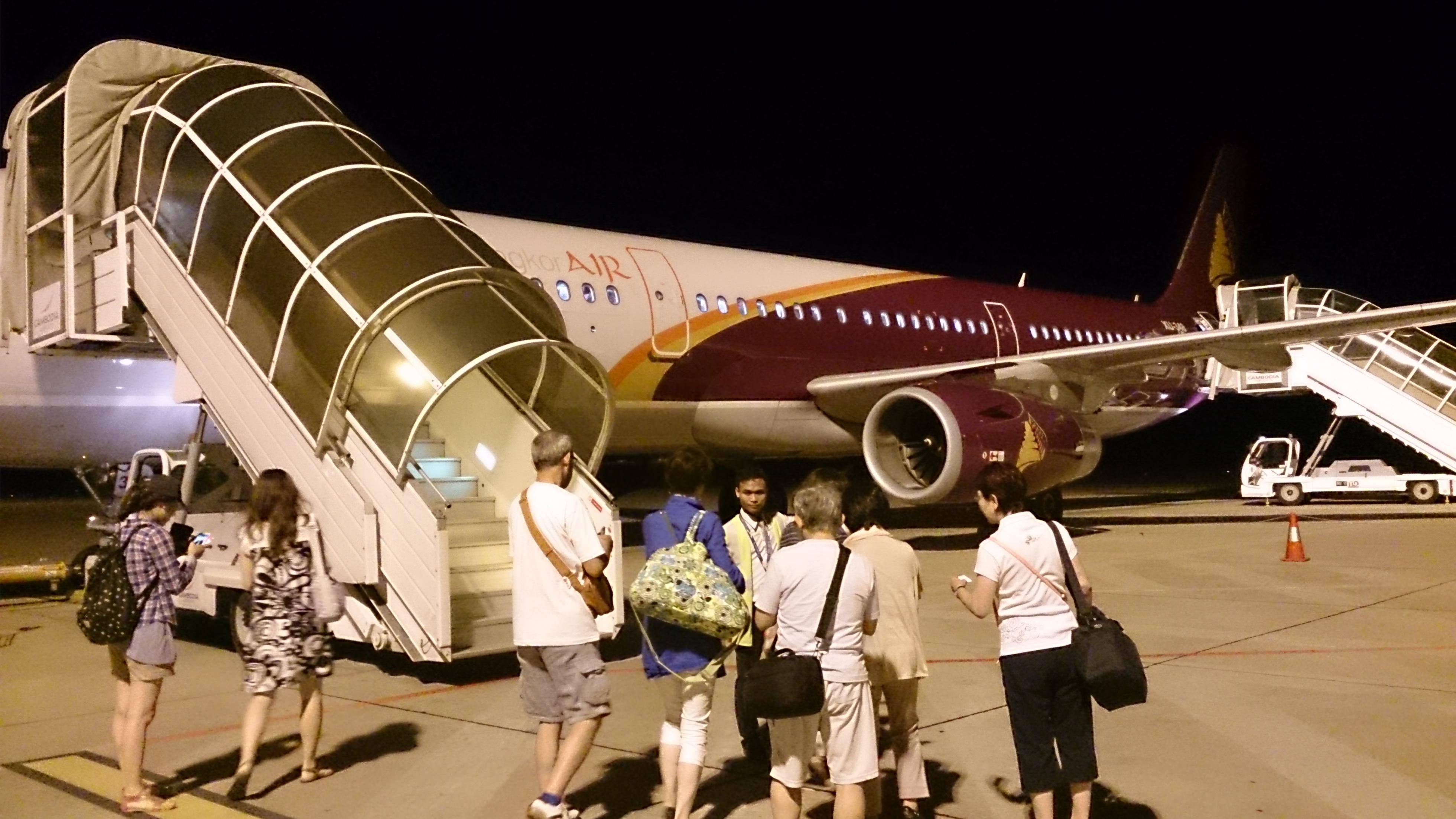 ベトナム航空のお下がりかよ!カンボジア・アンコール航空