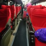 ヤンゴンからバガンへ JJ Express VIPバスで