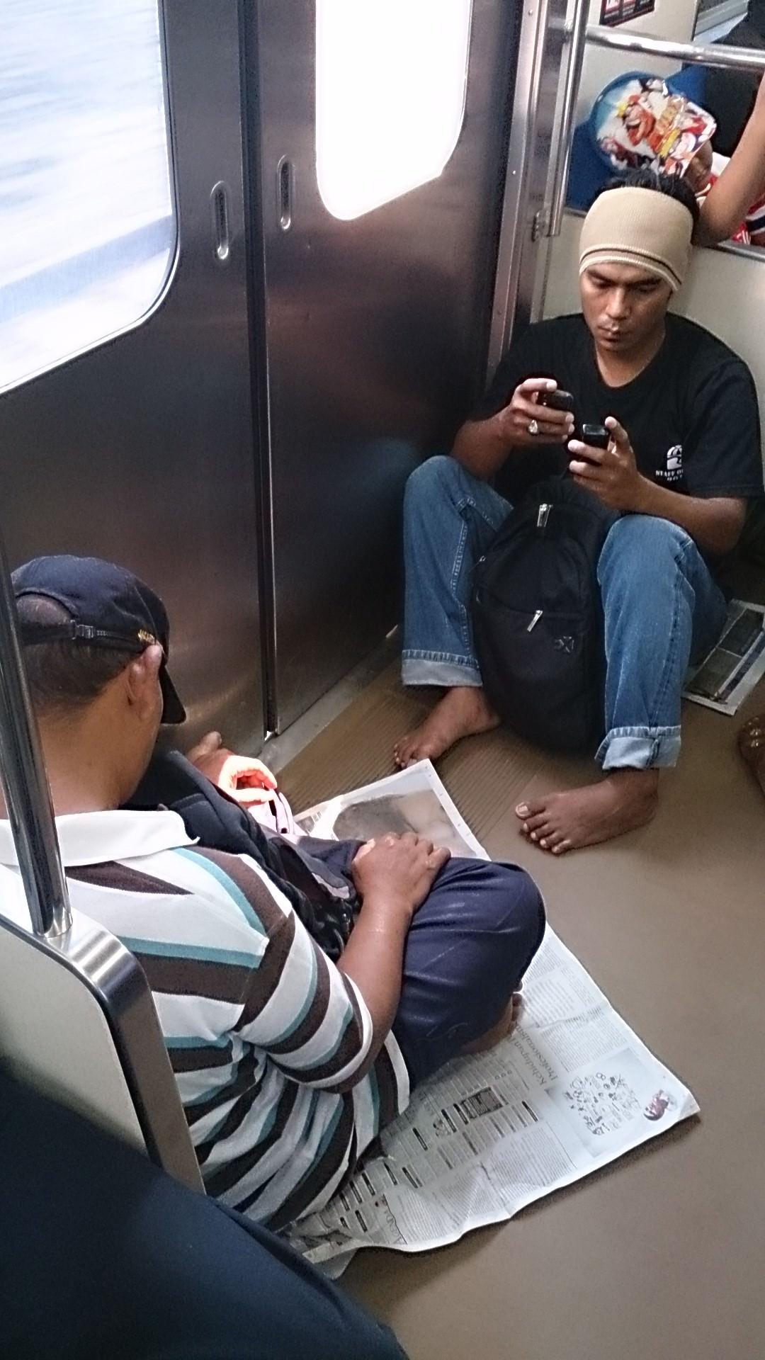 ジャカルタの鉄道に乗ってみた