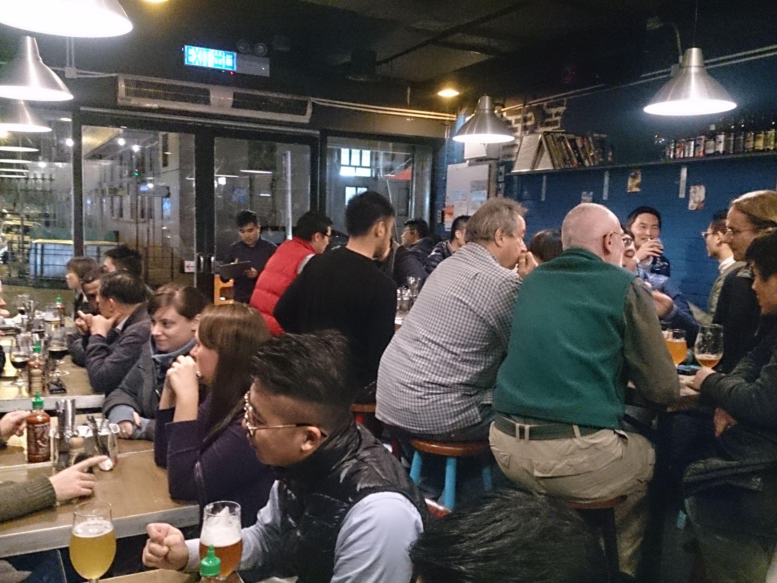 香港でクラフトビール 旺角のTAP The Ale Project