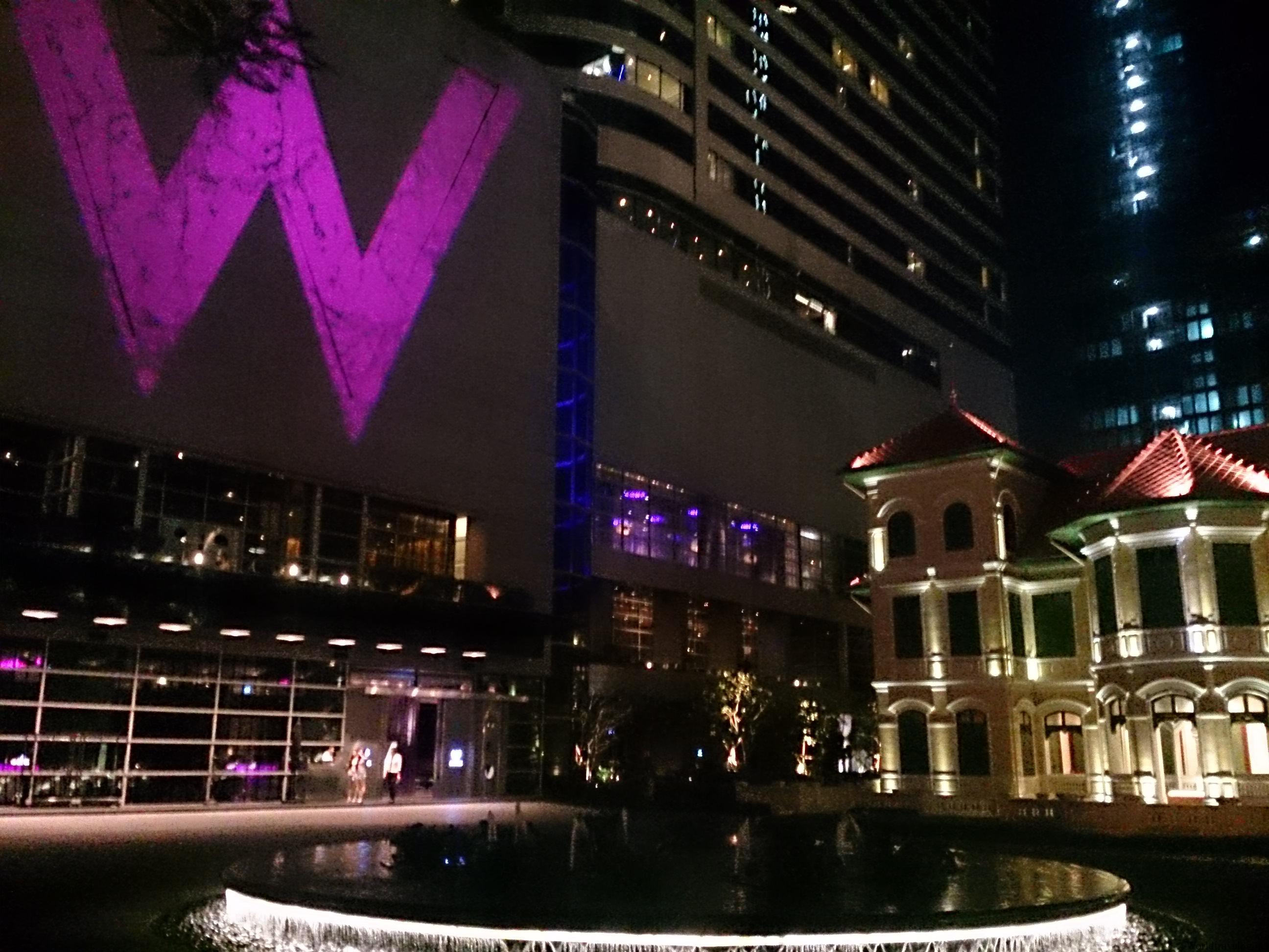 Wホテルデビュー W Hotel  Bangkok宿泊記