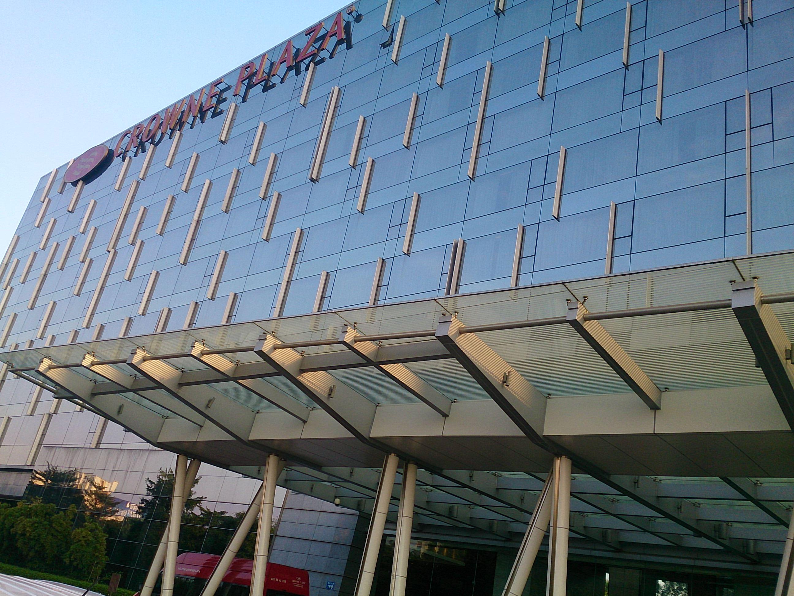 白雲空港への移動に便利なクラウンプラザ広州 花都ホテル 宿泊記