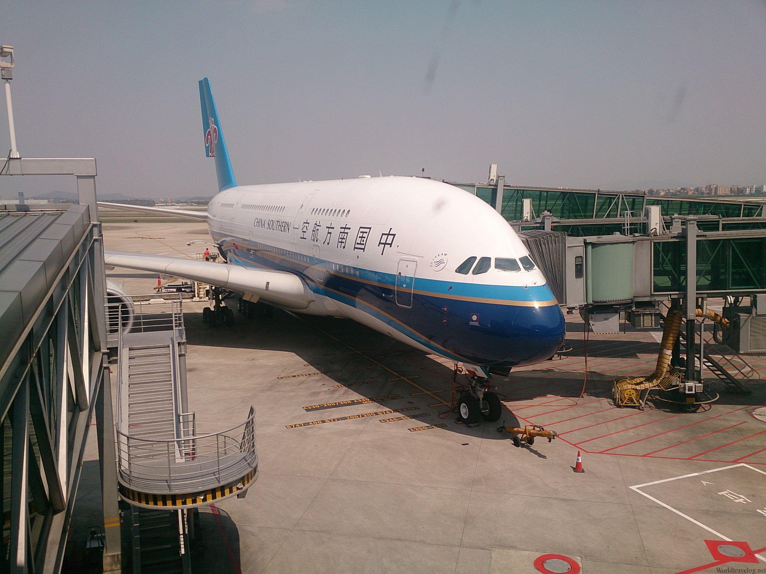 南方航空 A380 国内線ファーストクラス