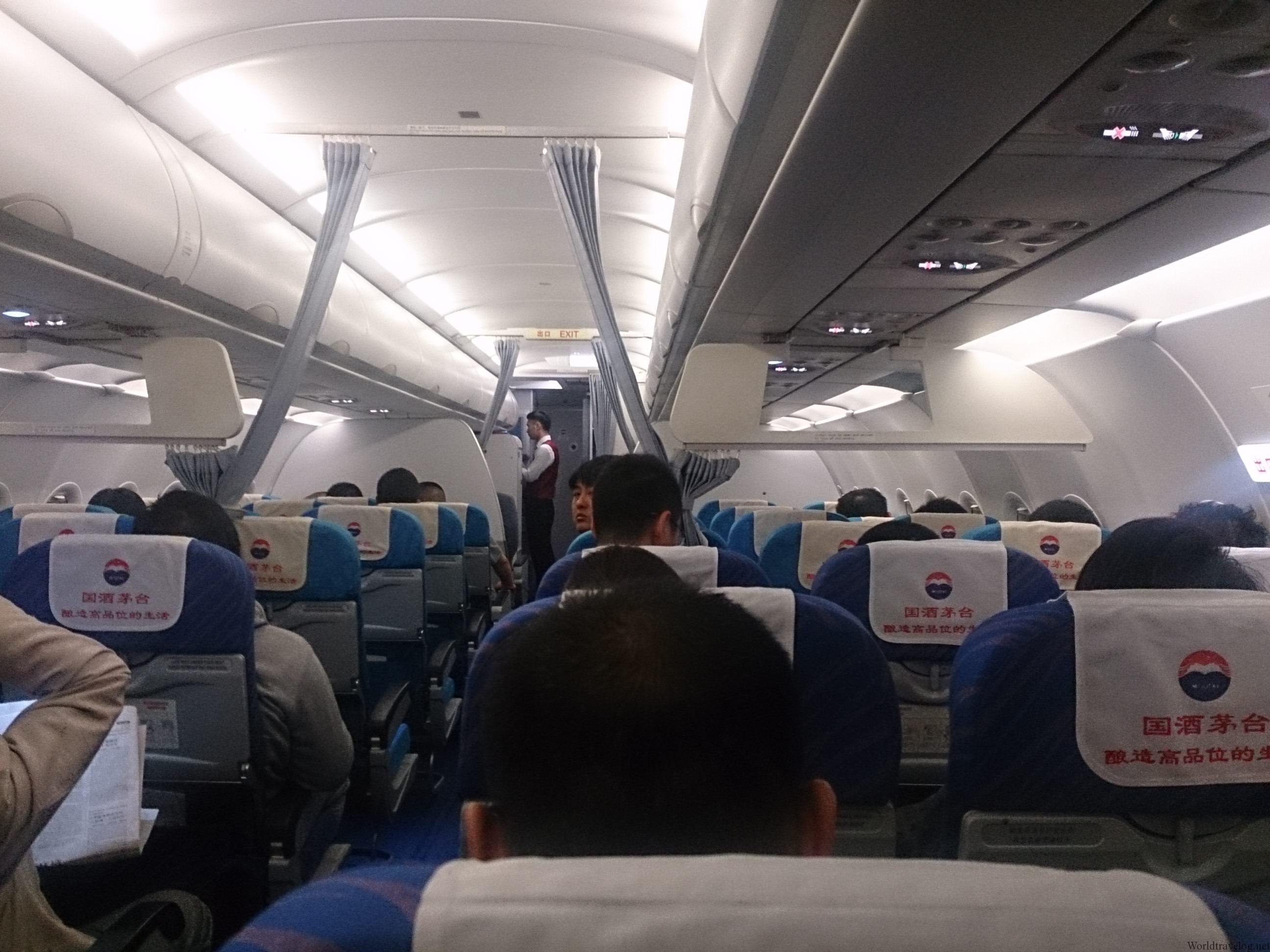 やっぱり疲れる南方航空のエコノミー 天津⇒広州
