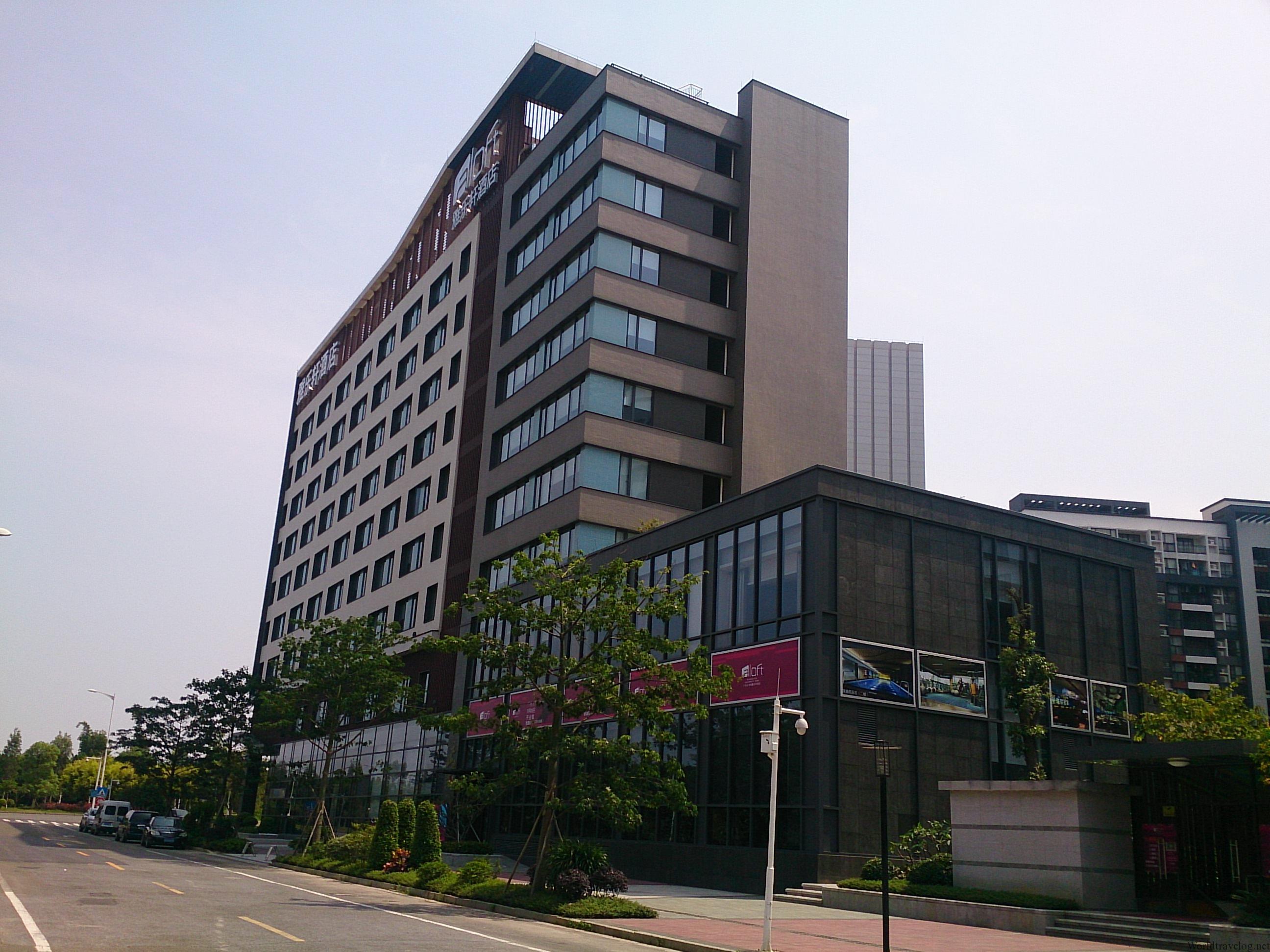 ヤングでポップでちょっと残念なアロフト広州大学城 宿泊記 Guangzhou Aloft