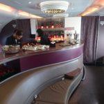 ドーハ⇒パリ カタール航空A380ファーストクラス搭乗記