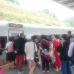 高速鉄道で楽山から成都へ移動 楽山・成都旅行5