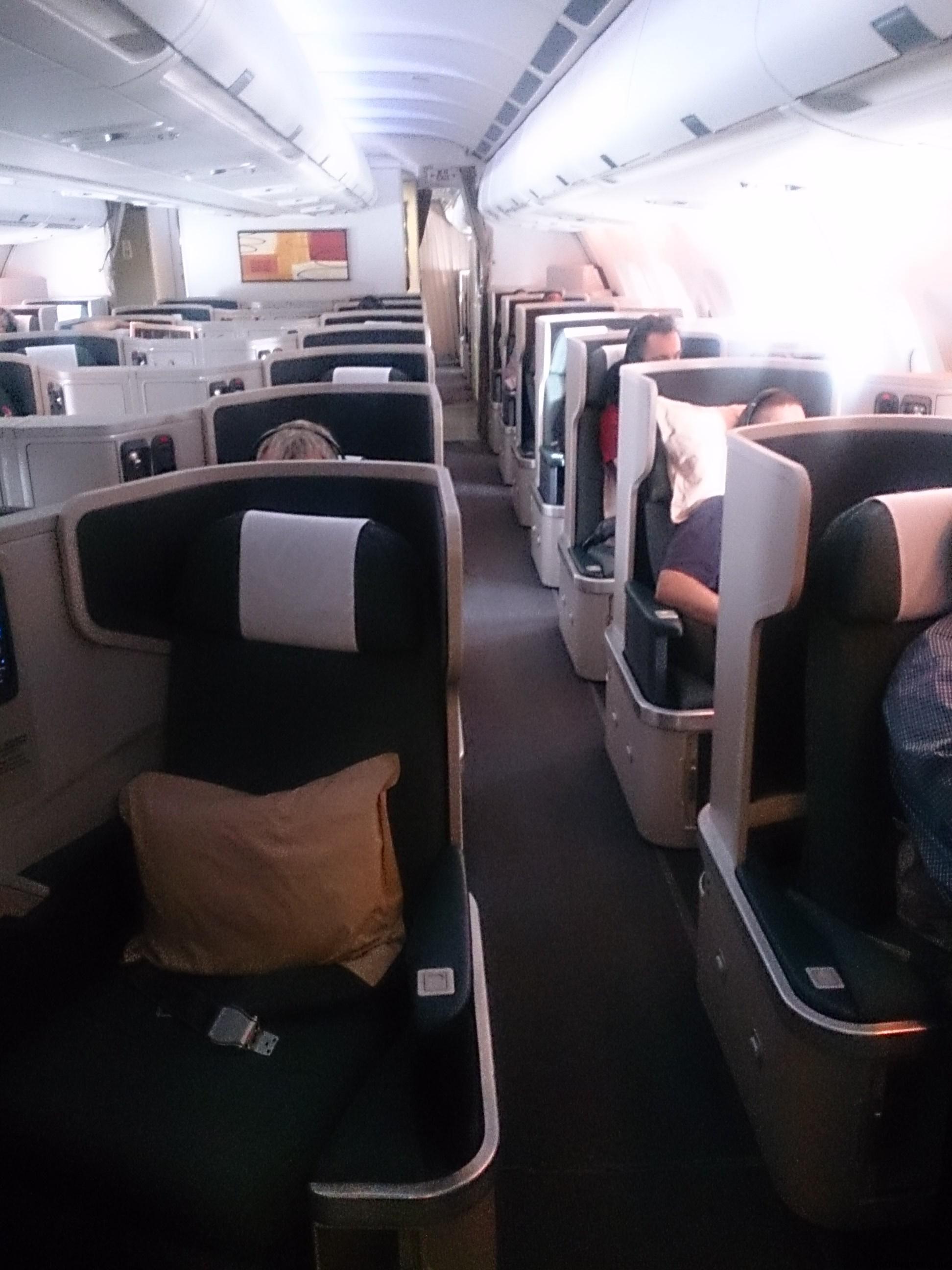 CX766 A330(A33G)で二階級特進のインボラ発生