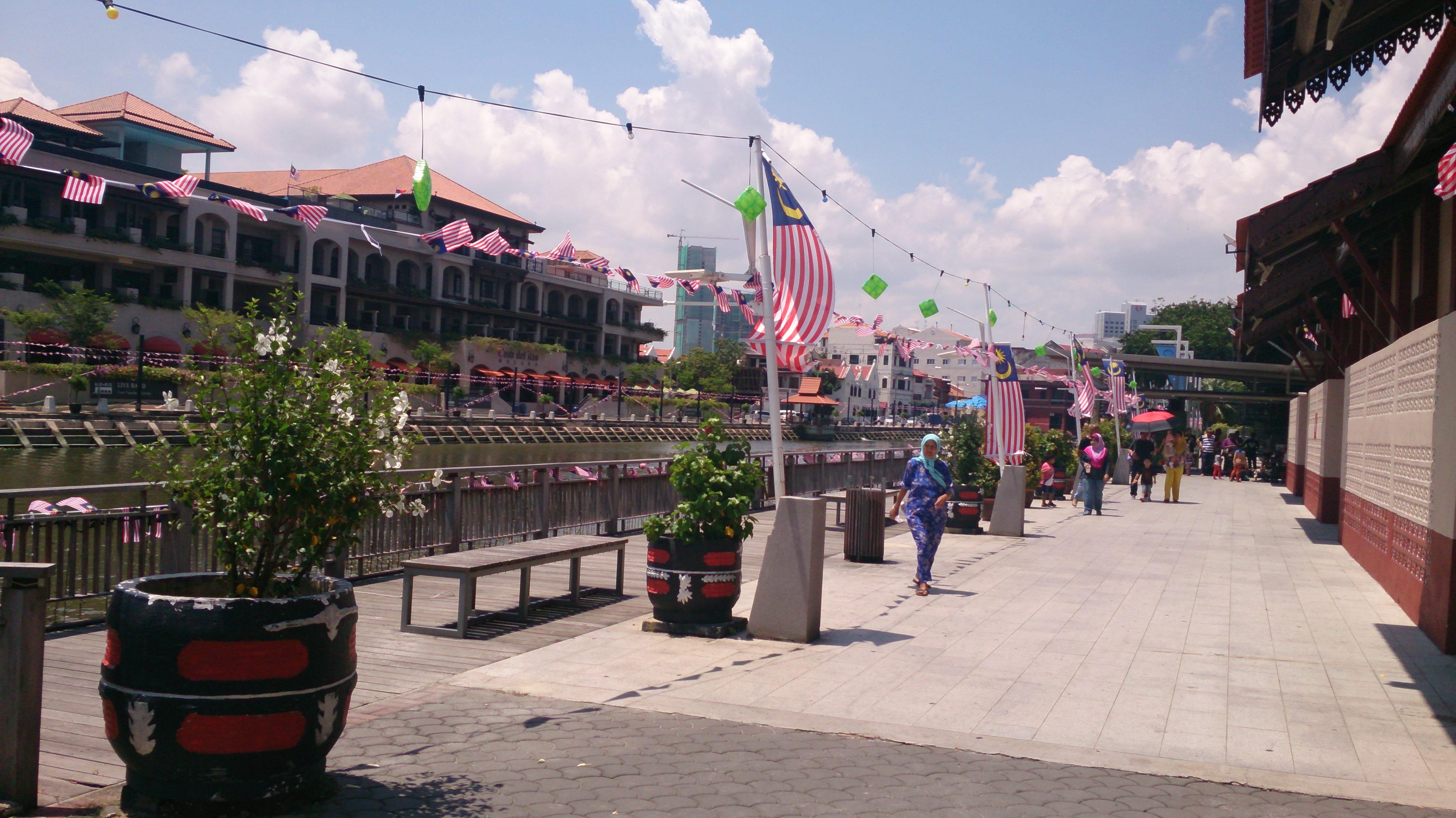 マラッカ川周辺の観光スポット