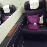 中国南方航空 B777-300ER 上海虹橋ー広州 ビジネスクラス搭乗記