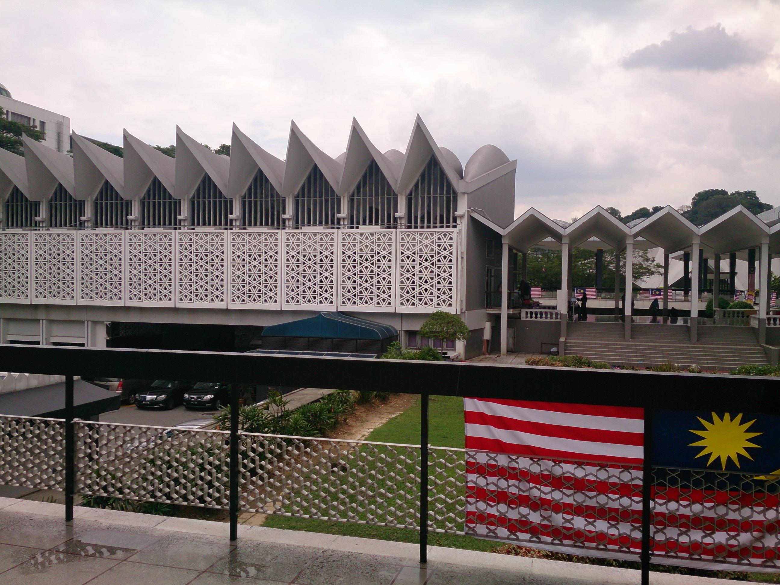 国立モスクとマレーシア・イスラム美術館