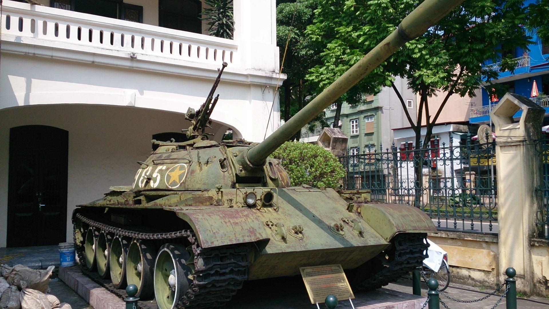 軍事歴史博物館(最強ベトナム軍万歳博物館)