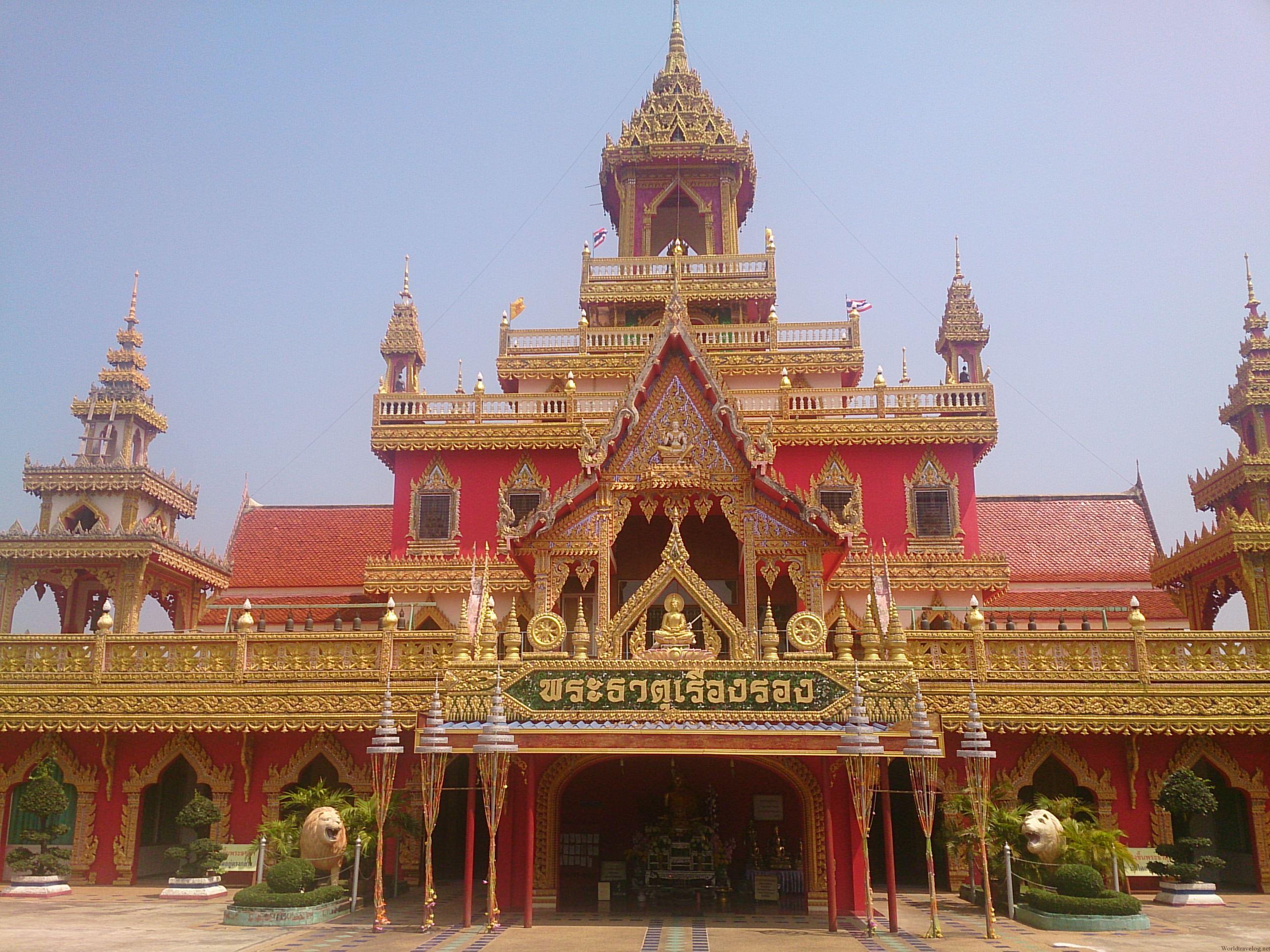 一風も二風も変わったタイの寺院 プラタート・ルアン・ローン
