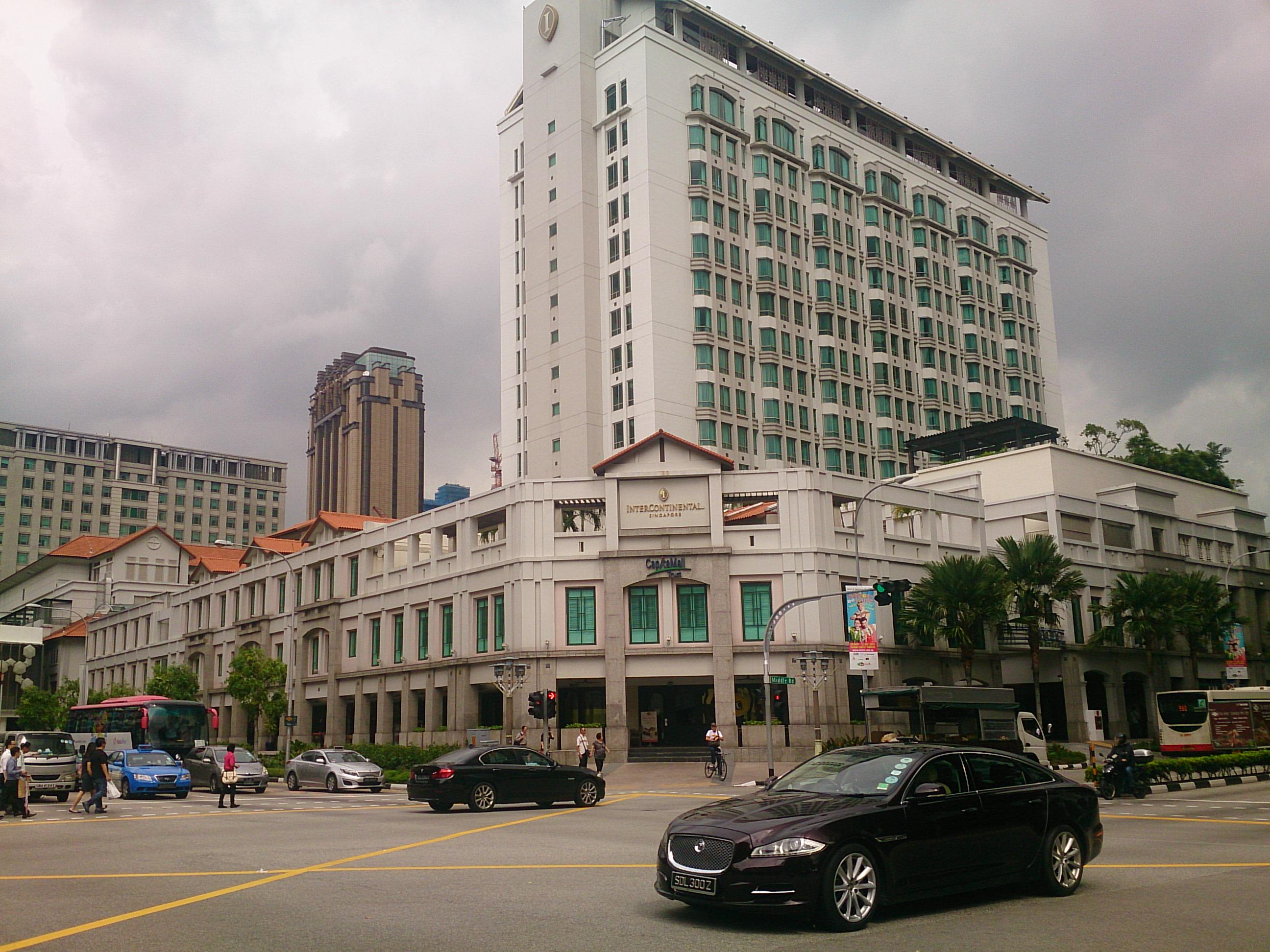 プラナカン要素満載のインターコンチネンタル シンガポール 宿泊記