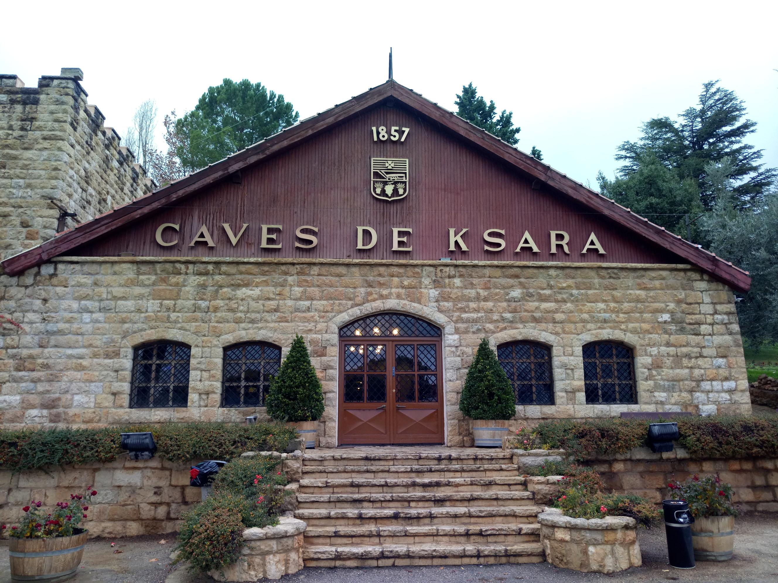 レバノンワインのテイスティングツアー Chateau Ksara | WorldTravelog ...