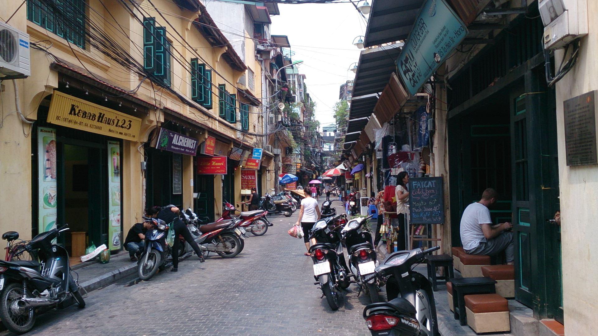 街歩き天国・ハノイ旧市街とドンスアン市場