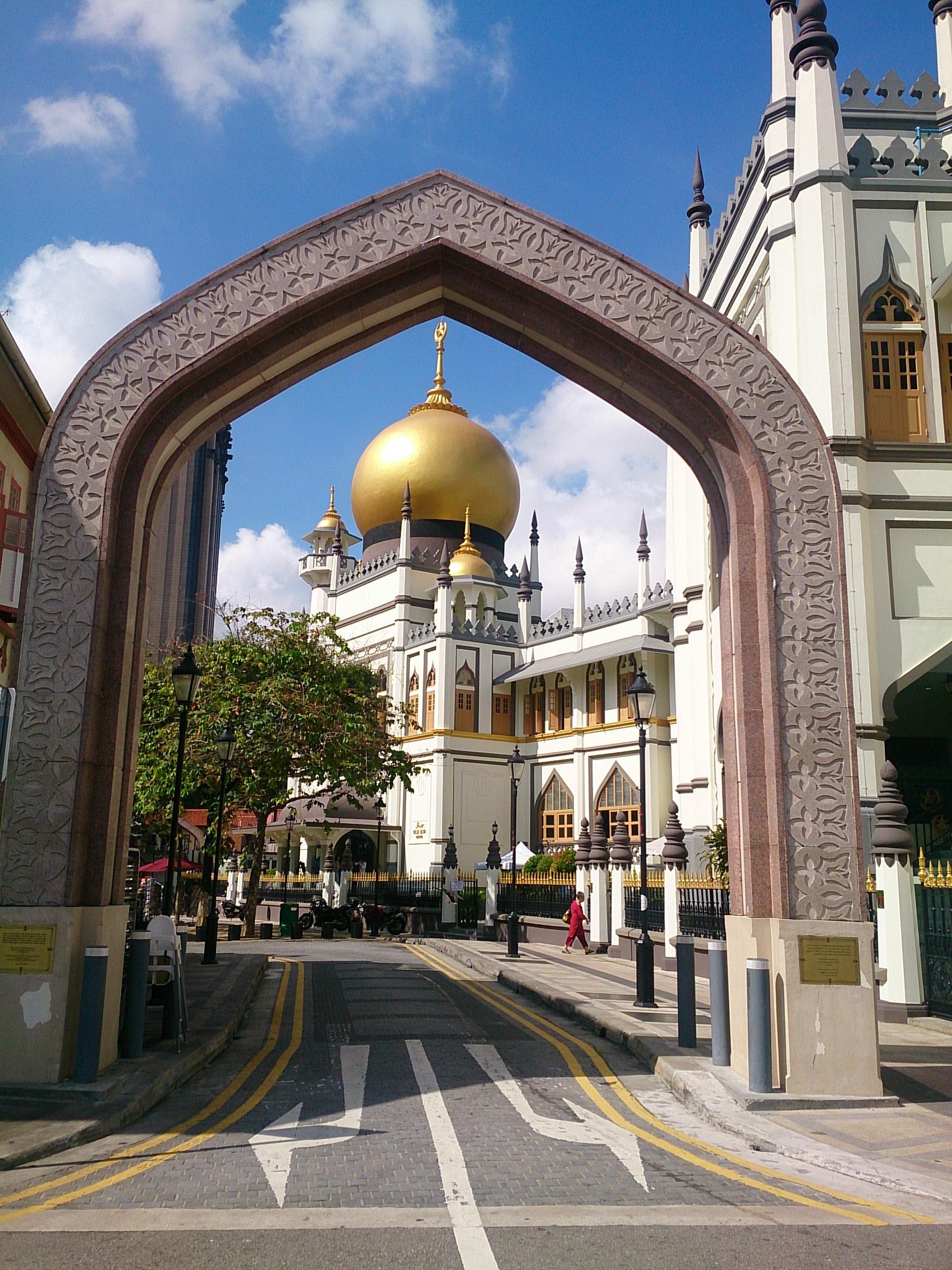 アラブストリートとサルタン・モスク
