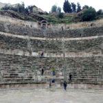 アンマンの街に残るローマ遺跡 アンマン城(シタデル)とローマ劇場
