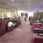 タイ国際航空 ロイヤルシルクラウンジ@シンガポール チャンギ国際空港