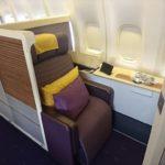 タイ国際航空B747-400 ファーストクラス解放 搭乗記