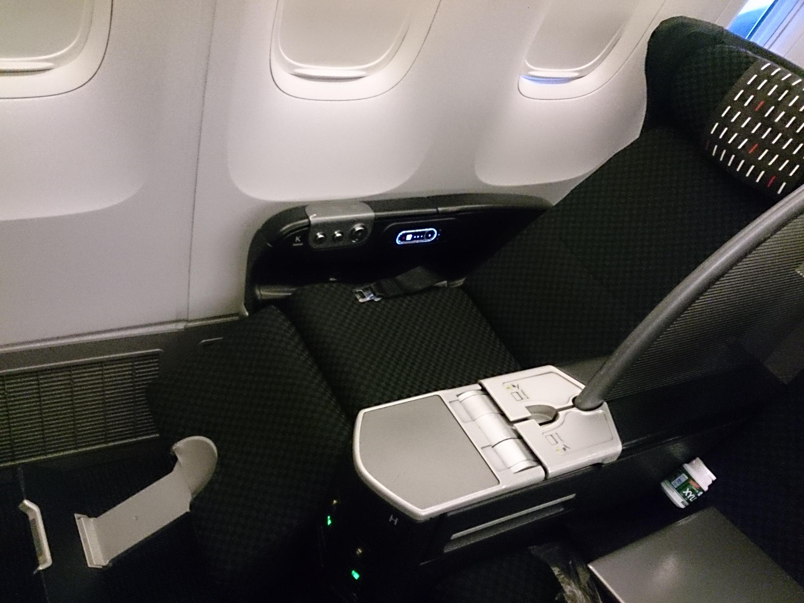 日本航空 羽田―広州 JL087 ビジネスクラス搭乗記