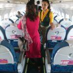 イエティ航空ネパール国内線 カトマンズから仏陀生誕の聖地・ルンビニへ