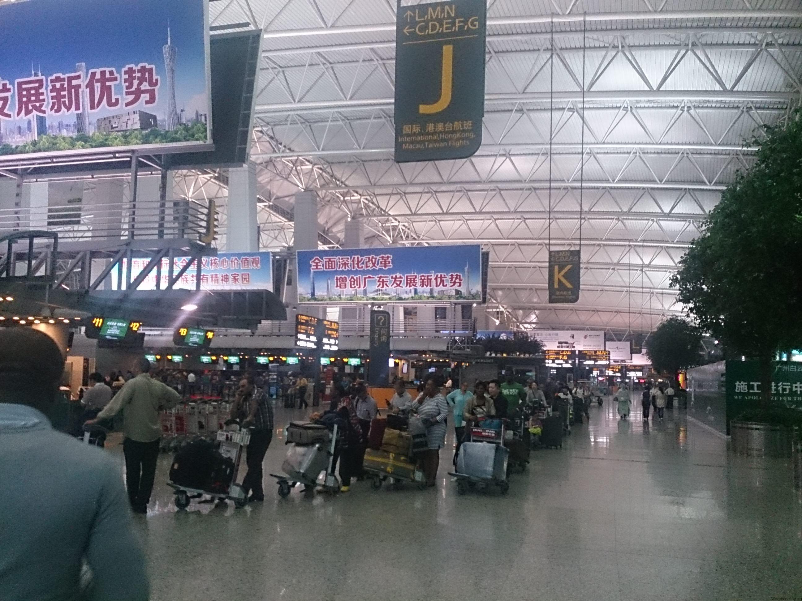 実際のフライト時間の数十倍疲れる KA786 香港⇒広州