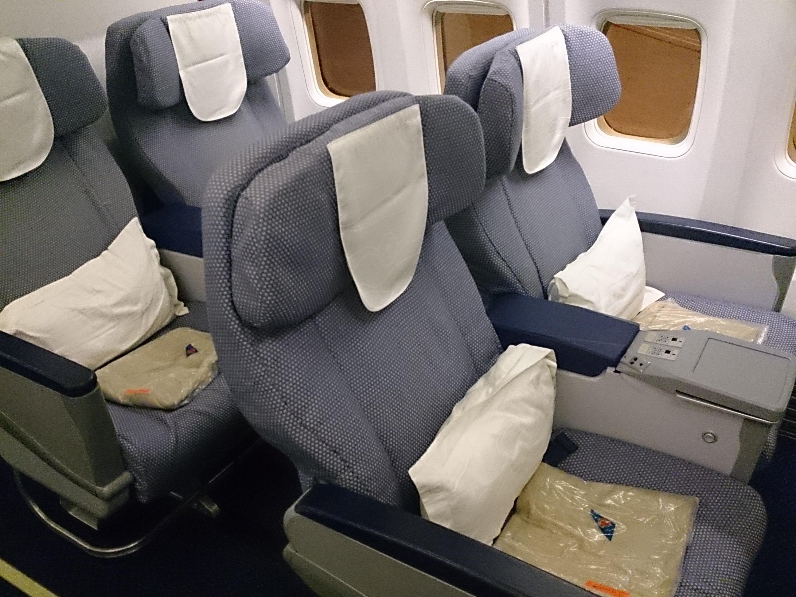 中国南方航空 CZ367 広州ーホーチミン B738ビジネスクラス