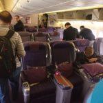タイ国際航空 B777-300(77R) ビジネスクラス搭乗記 バンコク⇒香港