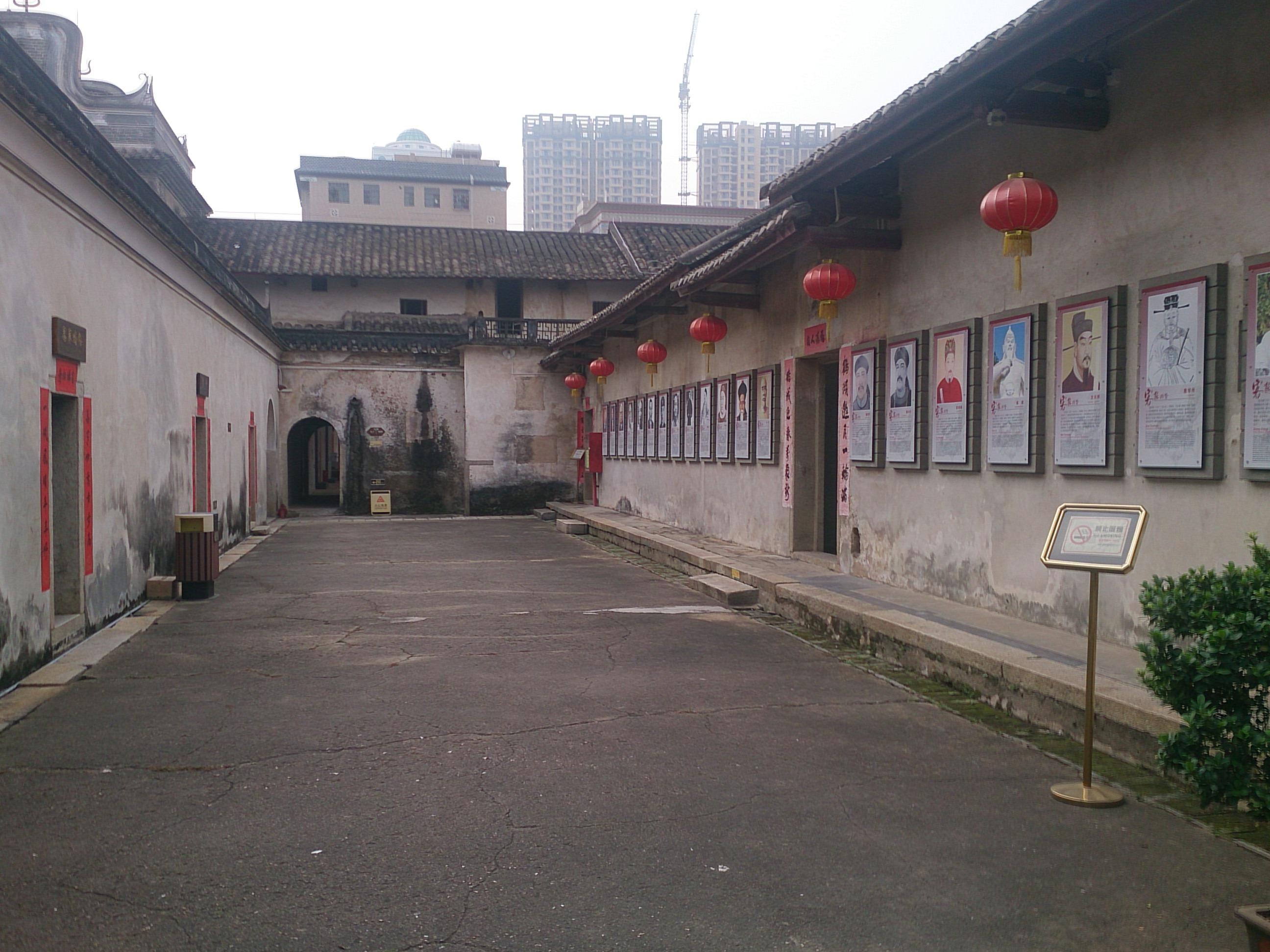 中国最大の客家囲屋跡 龍崗客家民族博物館