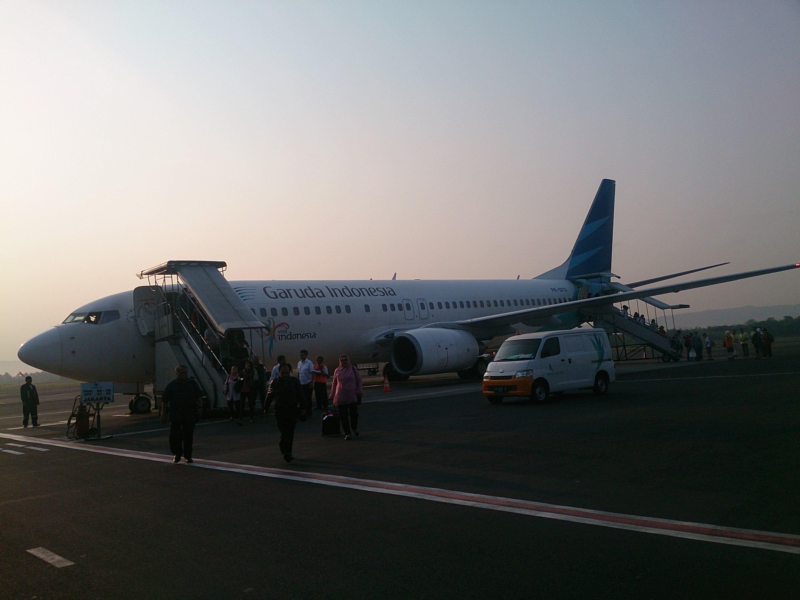 ガルーダ航空国内線ビジネスクラス B737-800