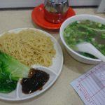 香港上環の生記清湯牛腩麺家 Sang Kee Congee & Noodles