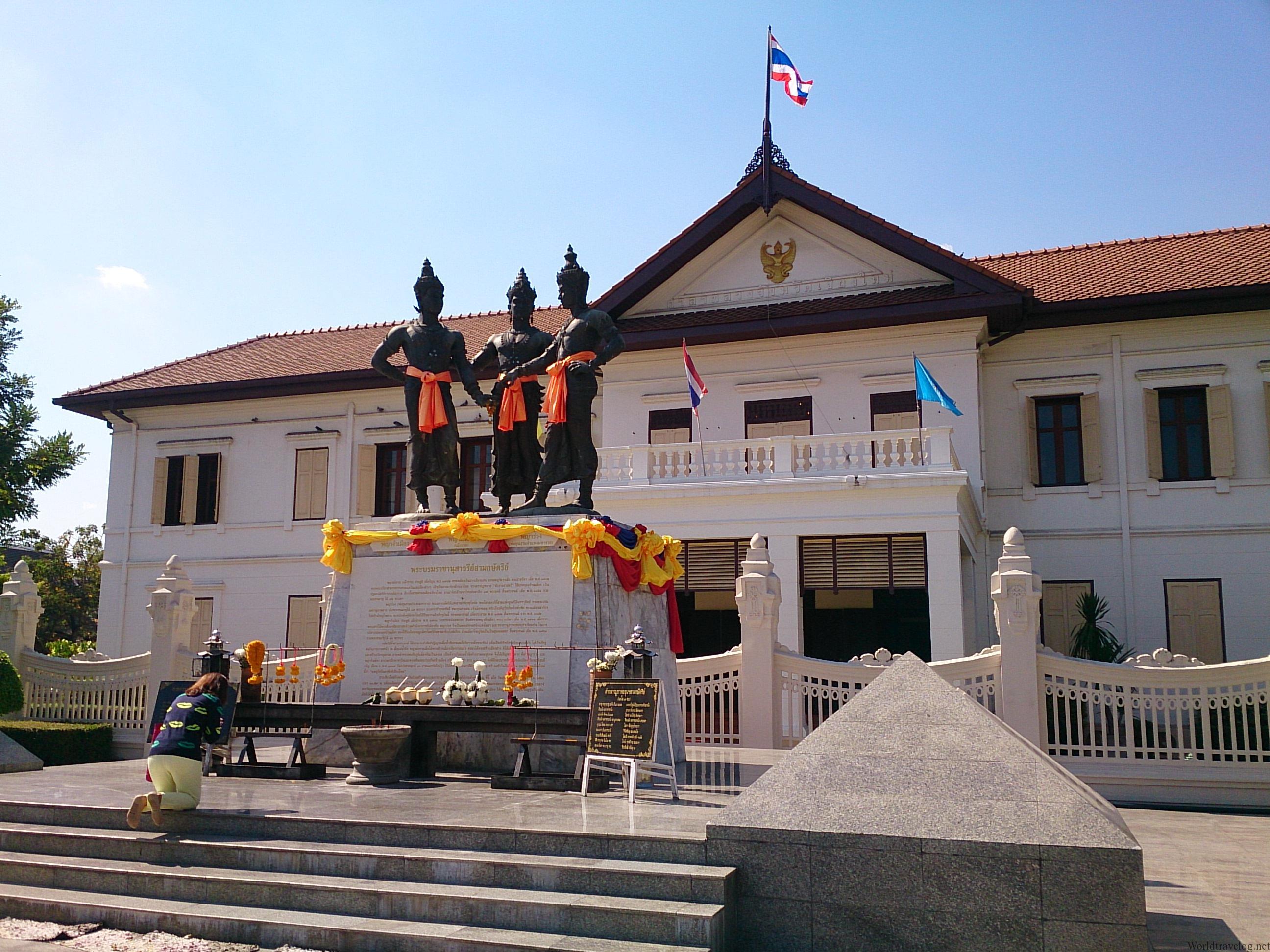 チェンマイ市芸術文化センターで北タイの歴史文化を学ぶ