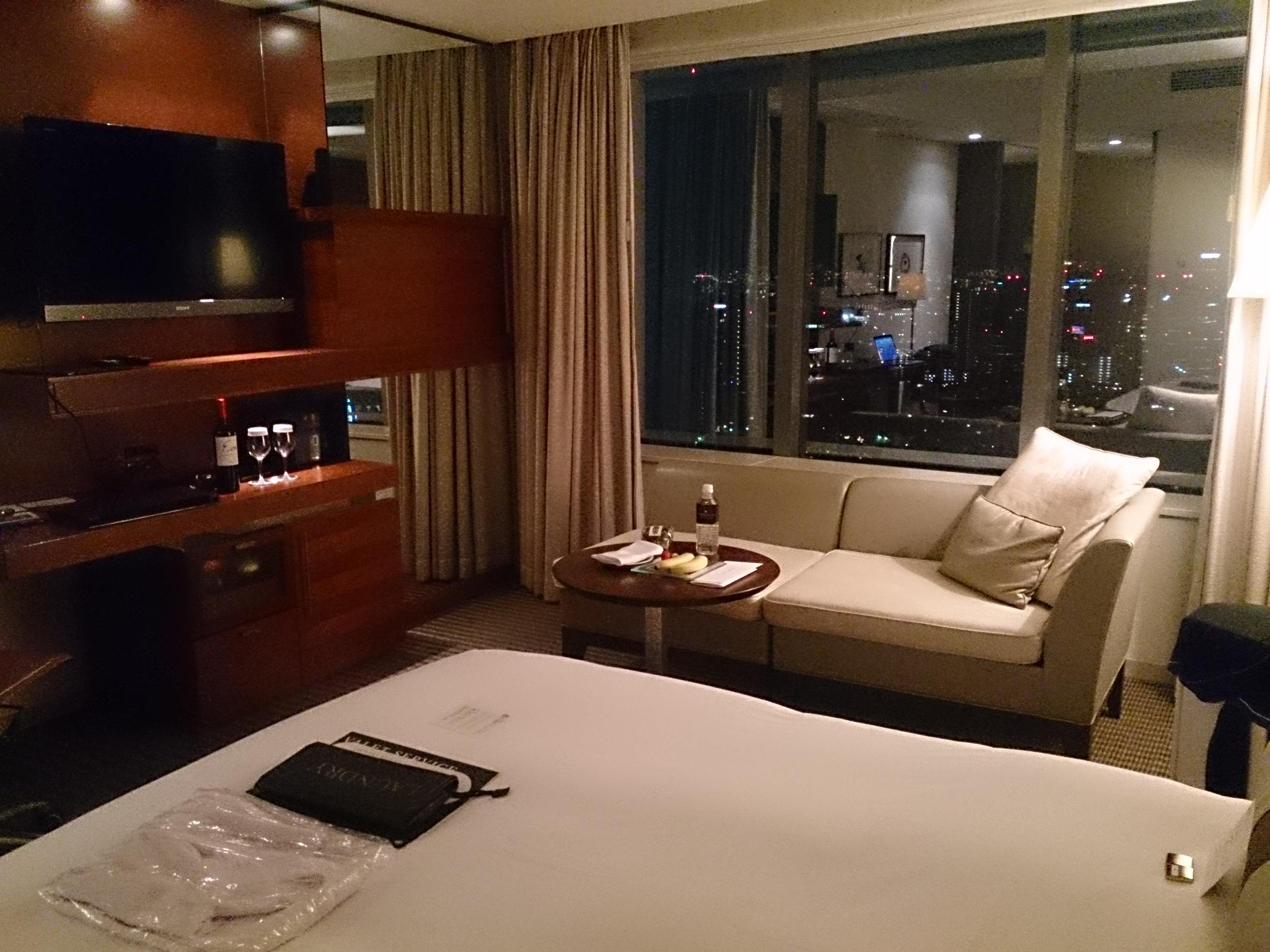 ストリングスホテル東京インターコンチネンタル 宿泊記