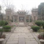 朝の回民街と回民のメッカ・清真大寺