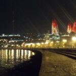 地層のように歴史の流れが可視化された町 アゼルバイジャンの首都 バクー