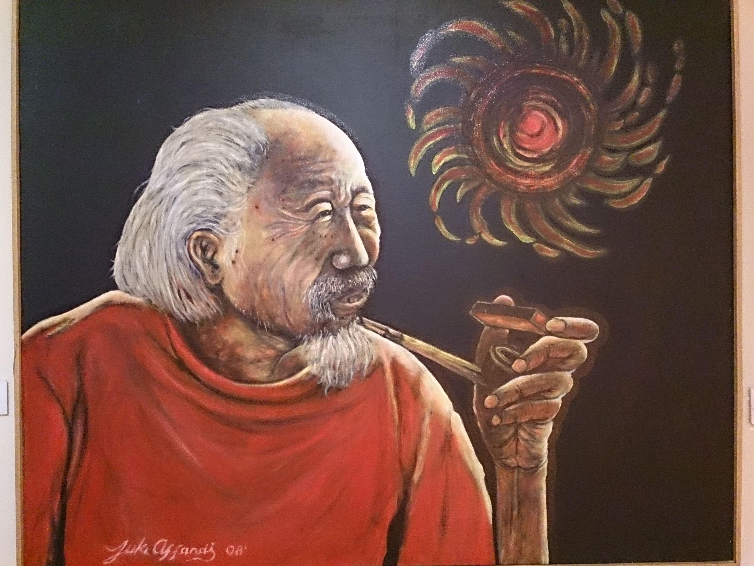 インドネシア近代絵画界の巨匠・アファンディ氏の美術館