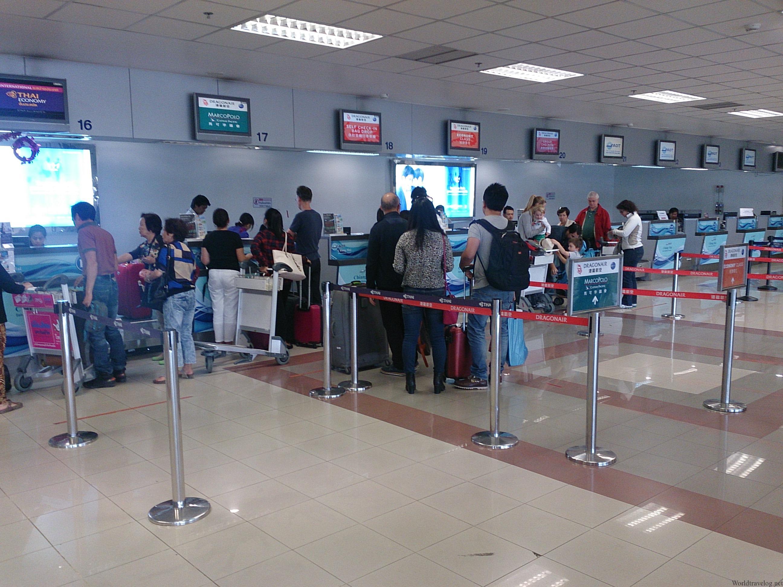 KA233 チェンマイ→香港 ビジネス席解放
