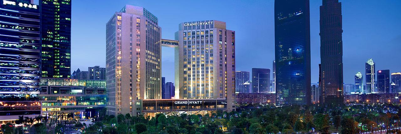 グランドハイアット広州宿泊記(Grand Hyatt Guangzhou)