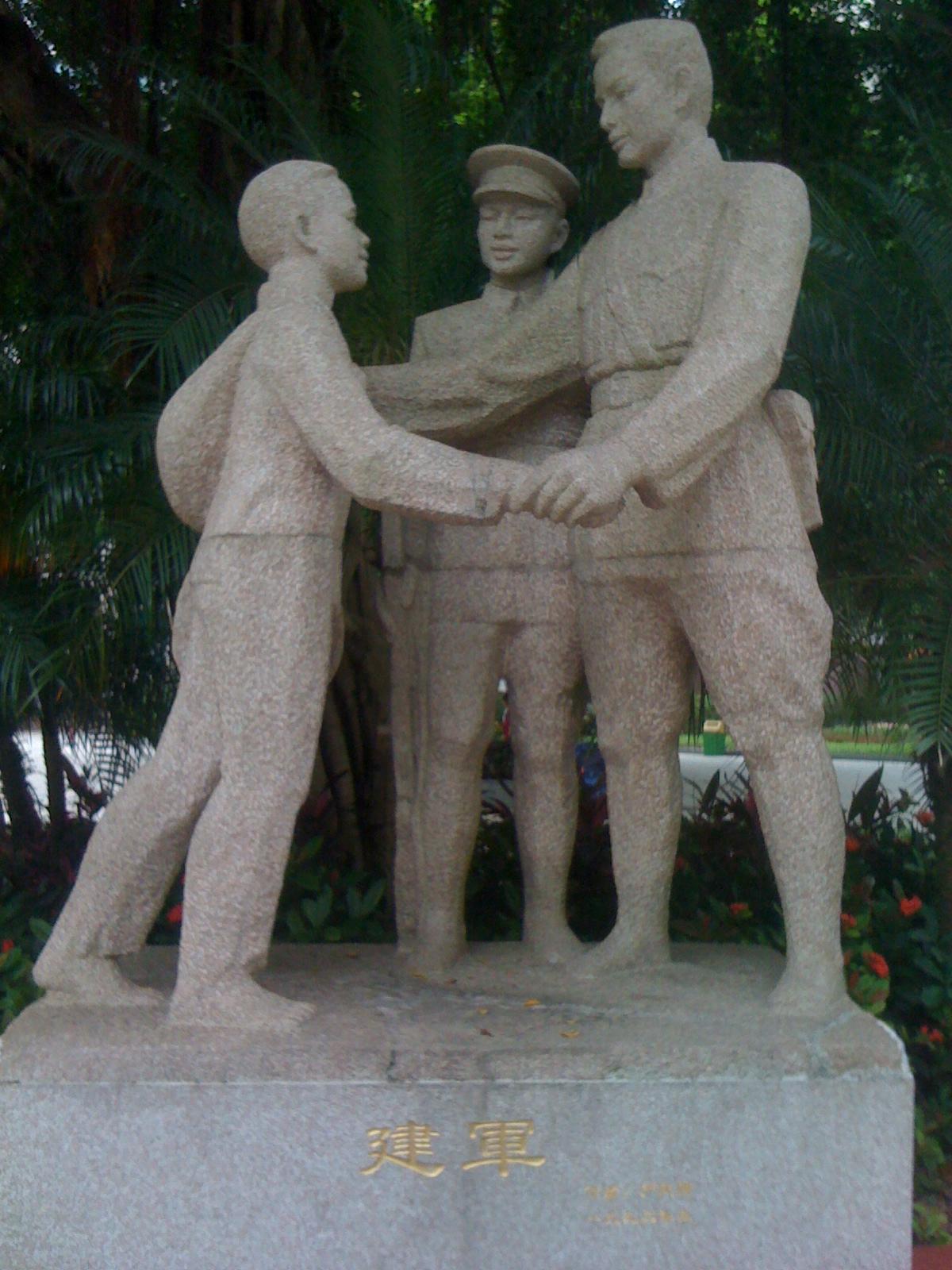 中国珠海の革命博物館でみる中国の愛国教育