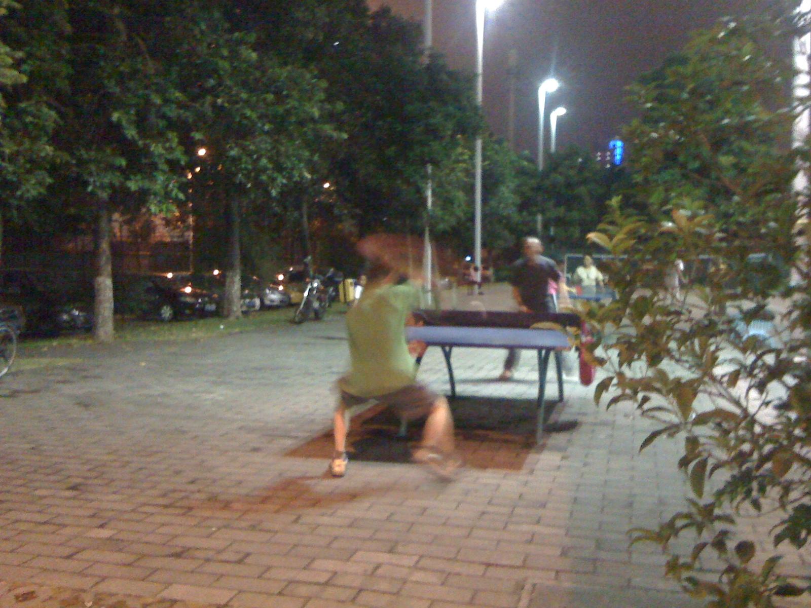 国技-中国の卓球事情