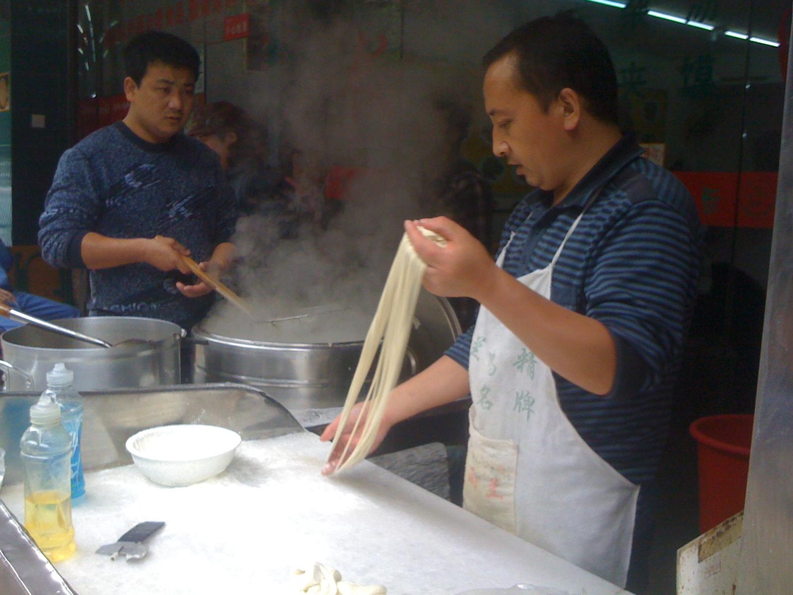 蘭州ラーメン:中国の職人芸
